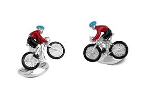 Bike & Rider Cufflinks
