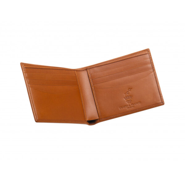 Leather Credit Card 8 Wallet in Tan