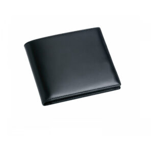 Leather Credit Card 8 Wallet in Black