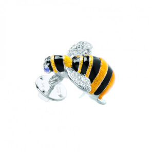 Sterling Silver Bumble Bee Lapel Pin