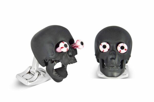 Eye Popping Skulls in Matte Black