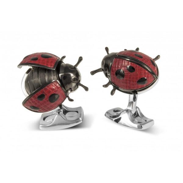 Moving Ladybird Cufflinks