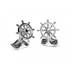 Ship Wheel Cufflinks