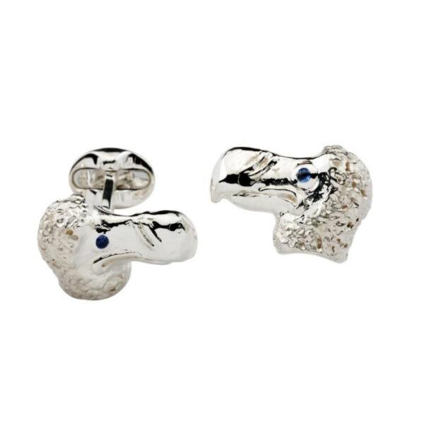 Sterling Silver DoDo Cufflinks
