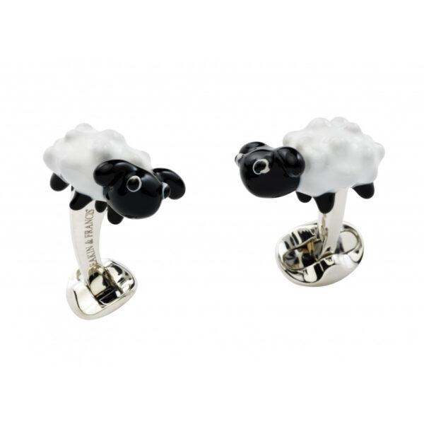 Sterling Silver Sheep Cufflinks