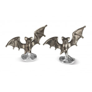 Sterling Silver 'Frightful' Bat Cufflinks