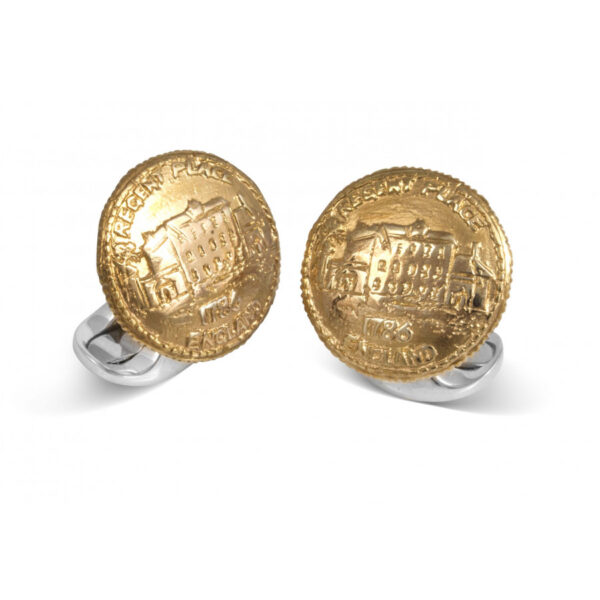 Sterling Silver 230 Coin Cufflinks - Regents Place
