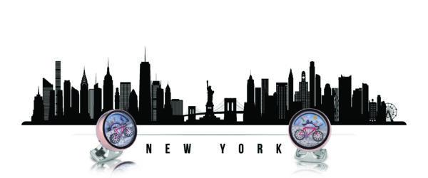 New York Moving Scene Cufflinks