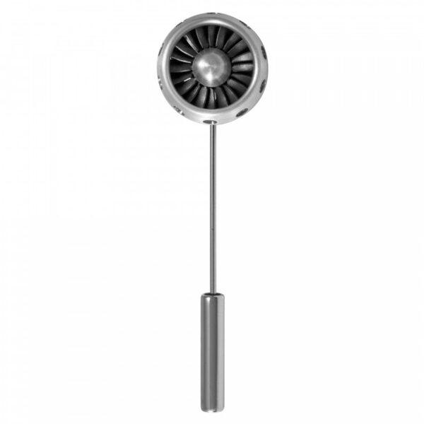 Jet Turbine Lapel Pin
