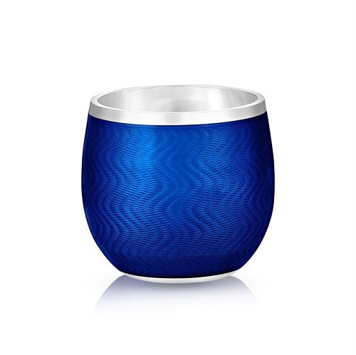 Fabergé Blue Enamel Shot Glass