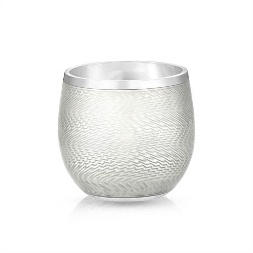 Fabergé White Enamel Shot Glass