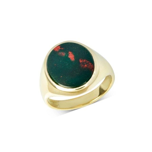 Stone Set Signet Ring